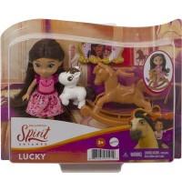 Mattel - Spirit - frei und ungezähmt - Lucky Puppe mit beweglichen Gelenken und