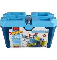 Mattel - Hot Wheels® - Track Builder Unlimited Mega Crash Stunt Box mit 18 Teilen