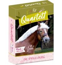 Kartenspiel Quartett Pferdefr