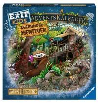 Ravensburger Spiel - EXIT Adventskalender Kids - Dschungel-Abenteuer