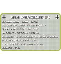 Cobi 2409 1939 MERCEDES G4