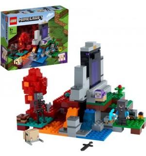 LEGO® Minecraft 21172 - Das zerstörte Portal