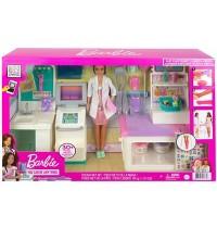 Mattel - Barbie - Krankenstation Set mit Puppe
