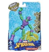 Hasbro - Marvel Spider-Man Bend and Flex Grüner Kobold