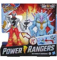 Hasbro - Power Rangers - Dino Fury Battle Attackers 2er-Pack