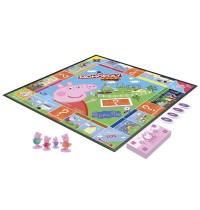 Hasbro F1656100 Monopoly Junior Peppa Pig