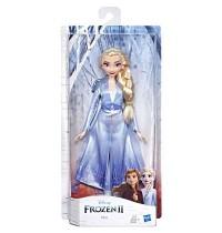 Hasbro - Die Eiskönigin 2 - Elsa Puppe mit langem blondem Haar und blauem Outfit