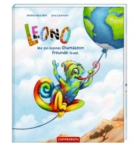 Coppenrath Verlag - LEONO - Wie ein kleines Chamäleon Freunde findet
