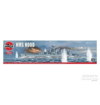 1/600 HMS Hood, Vintage Airfix