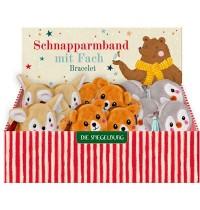 Die Spiegelburg - Schnapparmband mit Fach - Bärenstarke Weihnachten