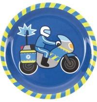 Die Spiegelburg - Kleine Freunde - Melamin-Teller Polizei