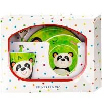Die Spiegelburg - Freche Rasselbande - Melamin-Geschenkset Panda