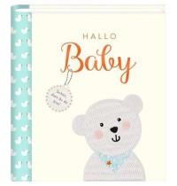 Coppenrath Verlag - BabyGlück - Hallo Baby - Eintragalbum mit vielen Extras
