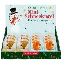 Die Spiegelburg - Mini-Schneekugel mit Plüsch - Bärenstarke Weihnachten