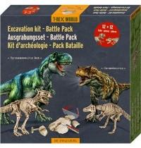 Die Spiegelburg - T-RexWorld - Ausgrabungsset Battle Pack - T-Rex und Carnotaurus