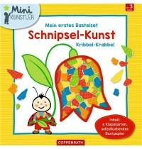 Coppenrath Verlag - Mini-Künstler - Mein 1.Bastelset: Schnipsel-Kunst Kribbel-Krabbel