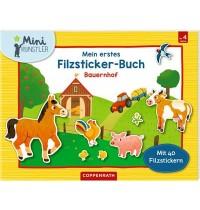 Coppenrath Verlag - Mini-Künstler - Mein erstes Filzsticker-Buch: Bauernhof