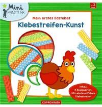 Coppenrath Verlag - Mini-Künstler - Mein erstes Bastelset: Klebestreifen-Kunst