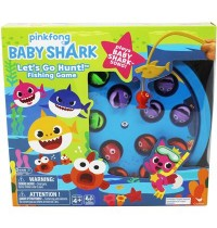 Spin Master - Pinkfong Baby Shark Lets Go Hunt-Angelspiel – spielt den Baby Shark-Song