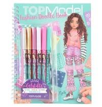 Depesche - TOPModel - Fashion Doodle Book mit Gelstiften