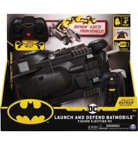 Spin Master - DC - Batman ferngesteuertes Batmobil mit Schleuderfunktion und exklusiver 10cm großer