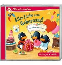 Oetinger - Alles Liebe zum Geburtstag! und andere Geschichten CD Ungekürzte Lesungen mit Geräusche