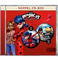 Edel:KIDS CD - Miraculous - Geschichten von Ladybug & Cat Noir Doppel-Box - Folge 11 + 12