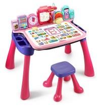 VTech - 5-in-1 Magischer Schreibtisch pink