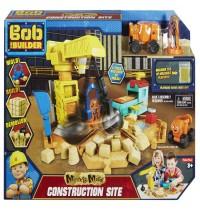 Bob der Baumeister - Großbaustelle Spielset (mit Spielsand)