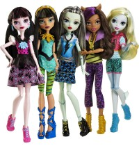 Mattel - Monster High™ - Todschicke Monsterschülerinnen, sortiert