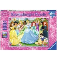 Ravensburger Puzzle - Zauberhafte Prinzessinnen, 100 Teile