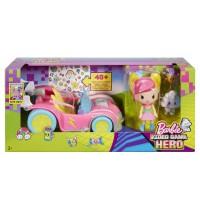 Mattel - Barbie - Die Videospiel-Heldin - Pixel-Mobil Set mit Puppe