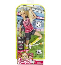 Mattel - Barbie - Made to Move Fußballspielerin
