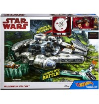 Mattel - Hot Wheels® - Star Wars™ Episode 8 Millennium Falke Spielset