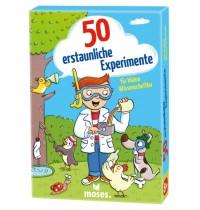 moses 50 erstaunliche Experimente für kleine W