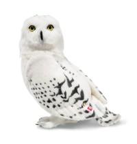 Steiff Eule Hedwig, Alpaca, weiß, 30 cm