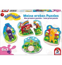 Puzzle Teletubbies 6x3 Konturpuzzleteile