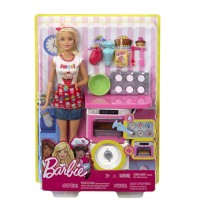 Mattel - Barbie Cooking and Baking - Bäckerin Puppe und Spielset