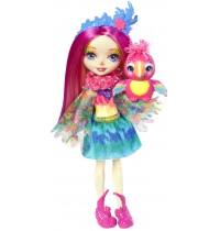 Mattel - Enchantimals - Papageienmädchen Peeki Parrot Puppe