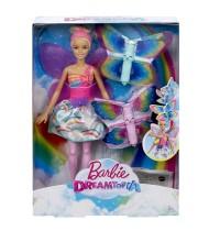 Mattel - Barbie Dreamtopia Regenbogen-Königreich Magische Flügel-Fee Puppe