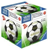 Ravensburger Puzzle - 3D Puzzles - Match Balls FIFA, 54 Teile