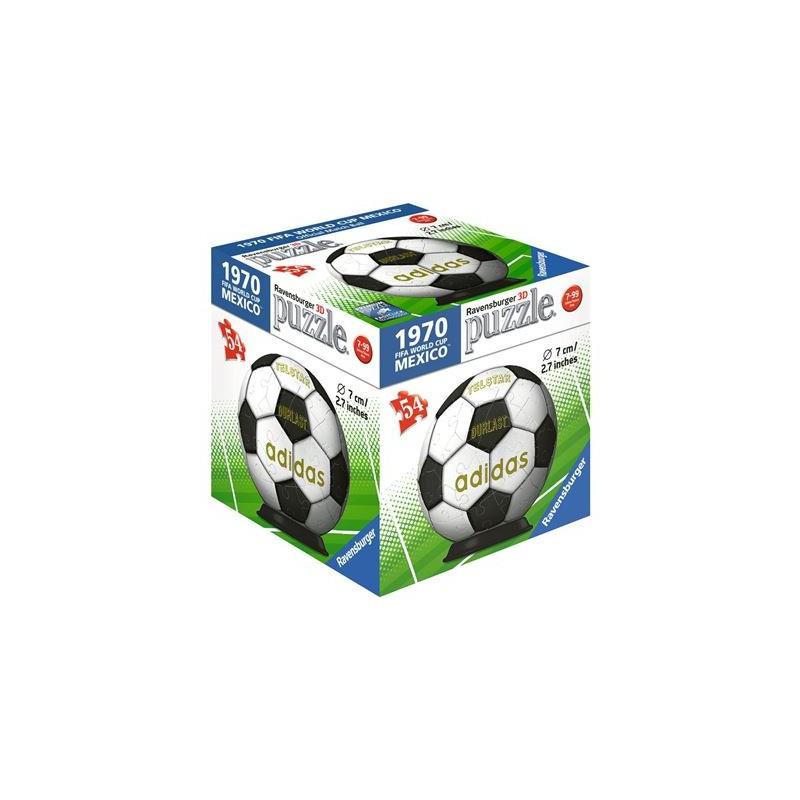 Ravensburger Puzzle - 3D Puzzles - Match Balls FIFA, 54 ...