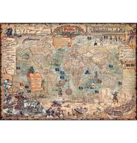 Heye - Standardpuzzles - Pirate World Standard, 2000 Teile