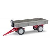 Anhänger T4 grau/rot