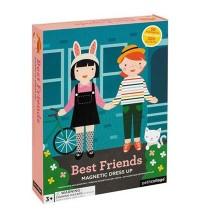 Petit Collage - Magnetspiel Anziehfiguren Mädchen