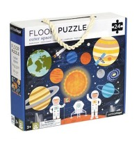 Petit Collage - Floor Puzzle Weltall 24 Teile