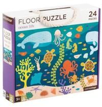 Petit Collage - Floor Puzzle Fische 24 Teile