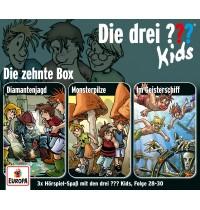 Kosmos CD-Box Die drei ??? Kids Folgen 28-30, Hörspiel CD-Box