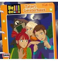 Kosmos CD Die drei !!! 45 Tatort Geisterhaus