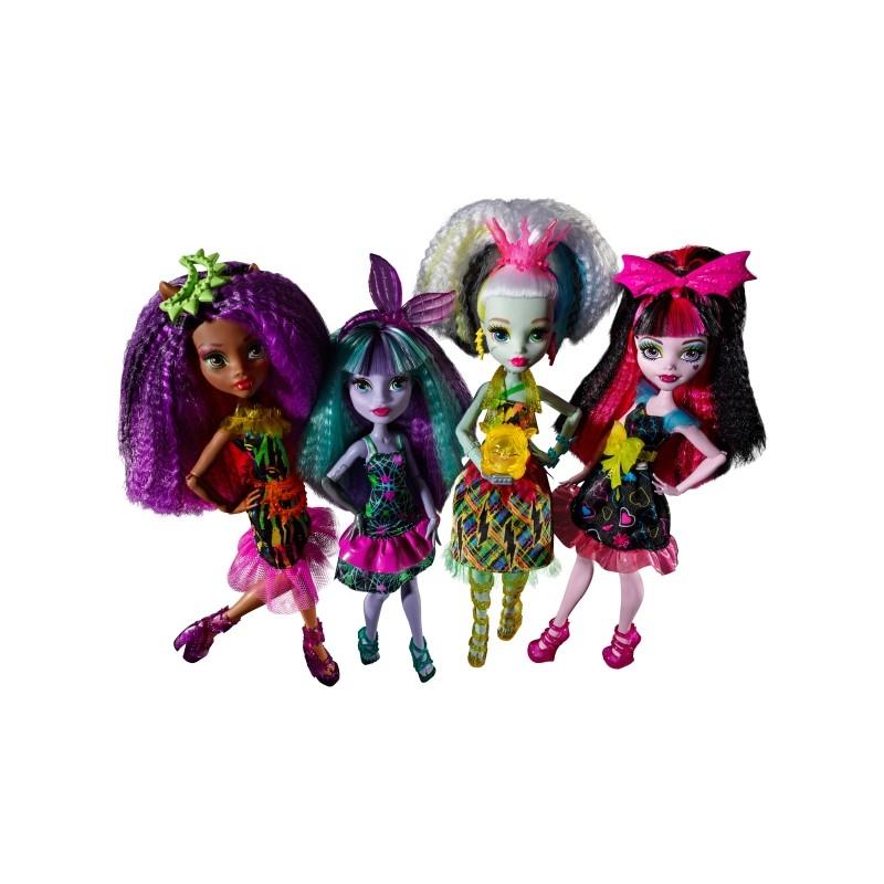 Mattel Monster High™ Elektrisiert Deluxe Puppen Sortiert